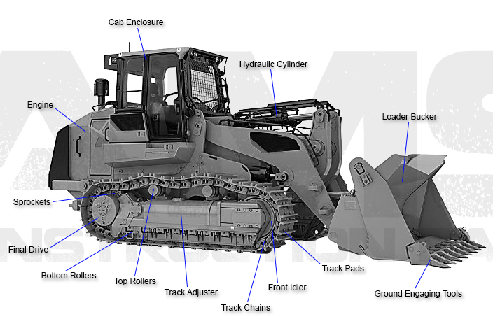 Caterpillar Track Loader Replacement Parts