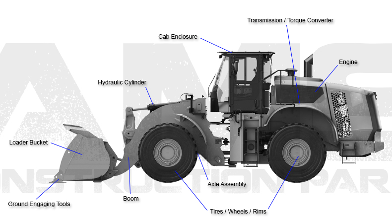 Caterpillar Wheel Loader Diagram