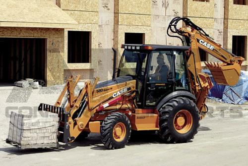 AMS Construction Parts - Case 580 Super M+ Backhoe Attachments