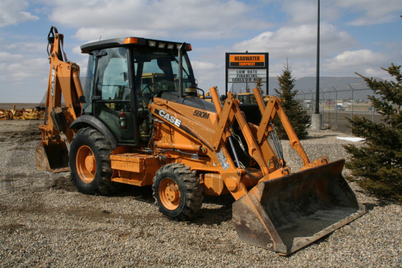 580M Case Backhoe Parts