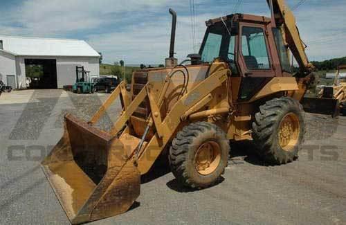 AMS Construction Parts - Case 680H Backhoe Parts