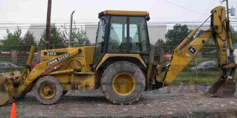 AMS Construction Parts - John Deere 310D Backhoe Attachments