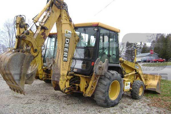 310E John Deere Backhoe Parts