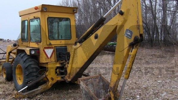 AMS Construction Parts - John Deere 410 Backhoe Attachments