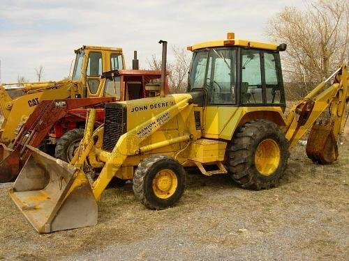 AMS Construction Parts - John Deere 410B Backhoe Parts