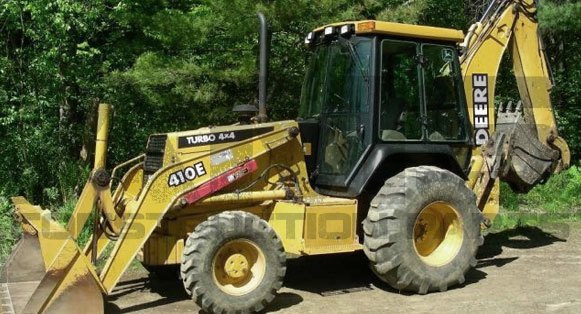 410E John Deere Backhoe Parts