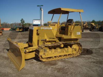 D3B LGP Caterpillar Bulldozer Parts