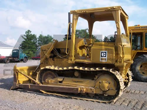 D4E Caterpillar Bulldozer Parts