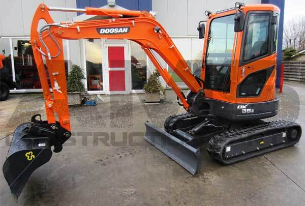 DX35Z Doosan Excavator Parts