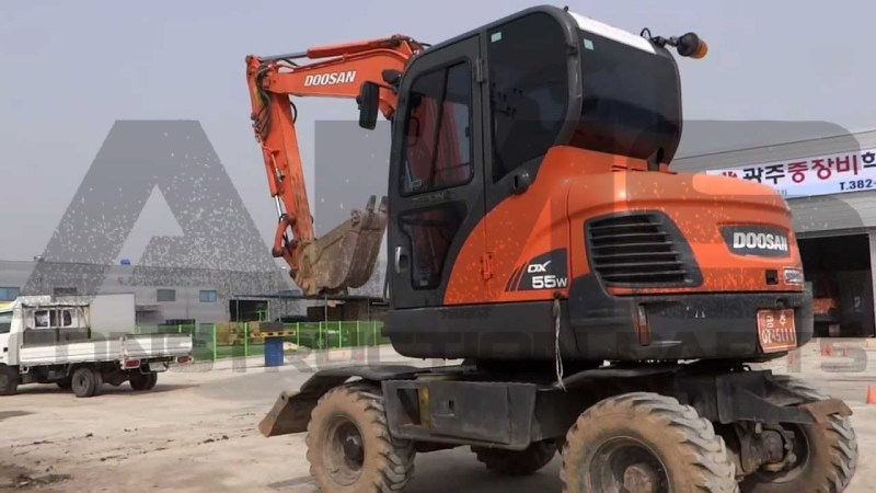 DX55W Doosan Excavator Parts