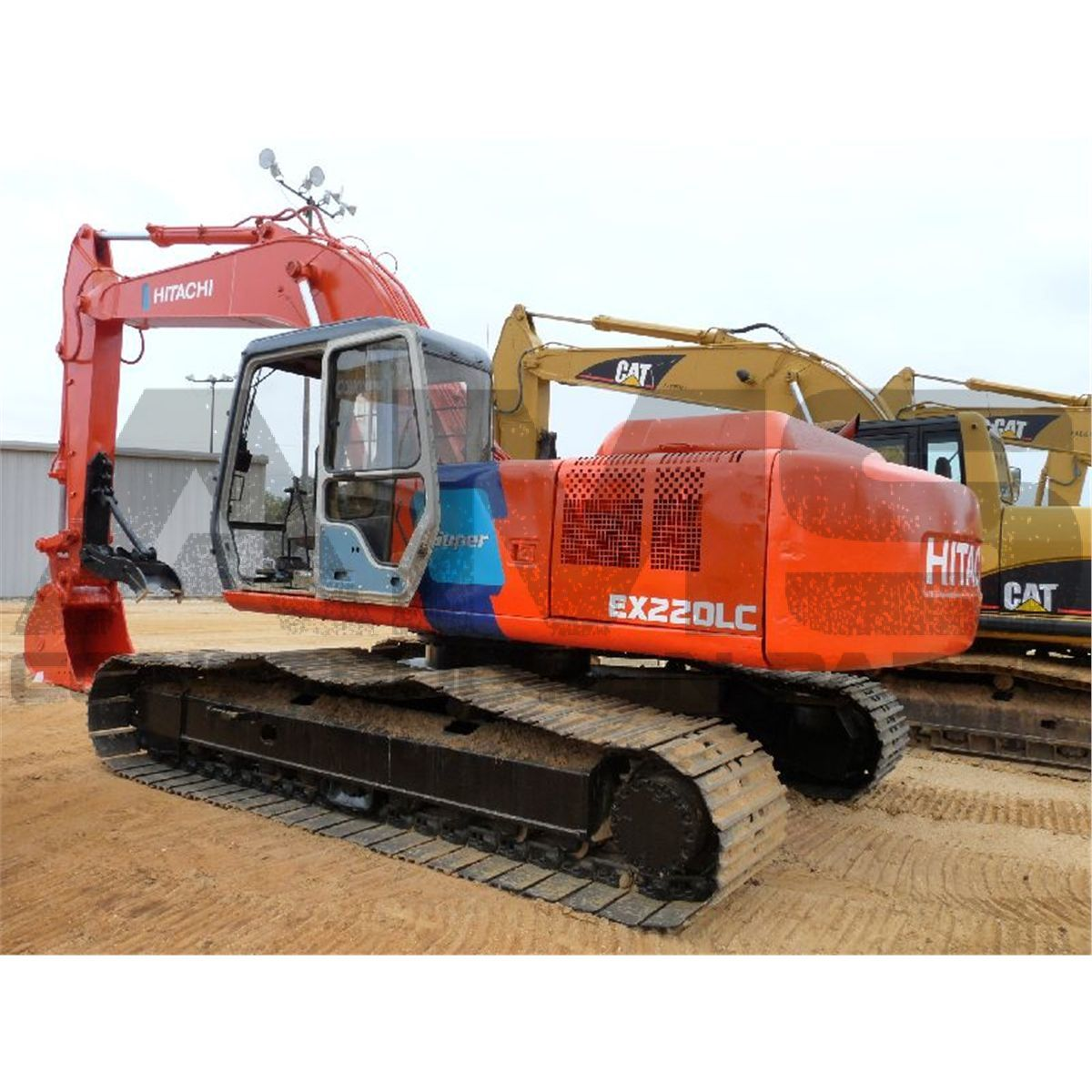 EX220LC-5 Hitachi Excavator Parts