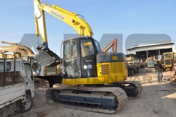 AMS Construction Parts - Komatsu PC138USLC-2 Excavator Parts
