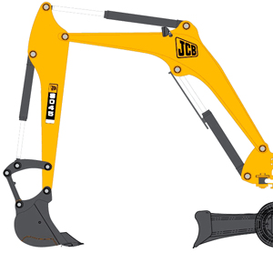JCB Booms and Sticks