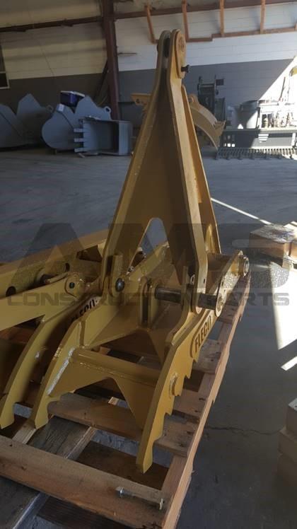 John Deere Backhoe Attachment >> AMS Construction Parts - 580L Thumb - Case Backhoe
