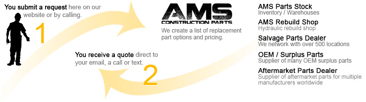 AMS Construction Parts - Heavy Equipment Salvage Yard Parts